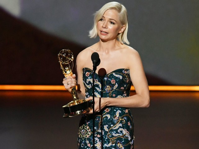 Michelle Williams addresses pay disparity in her powerful Emmy speech