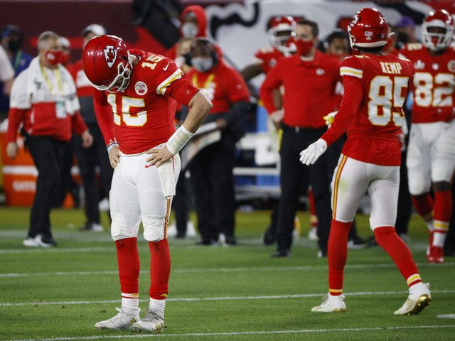 Travis Kelce Explains How the Chiefs Locker Room Looked like after Super Bowl LV Loss
