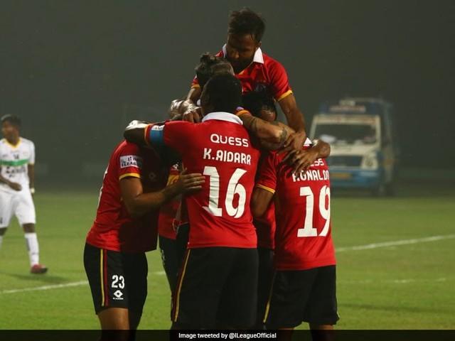 I-League: Marti Crespi Last-Gasp Goal Helps East Bengal Beat TRAU