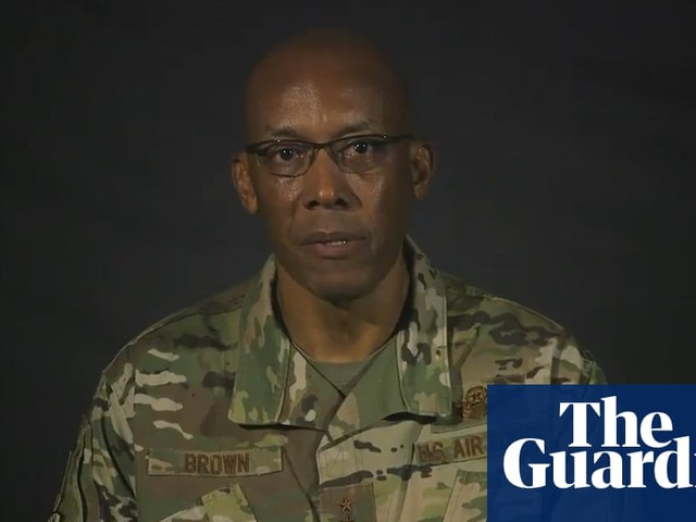 Top air force general shares powerful video on experience as black airman