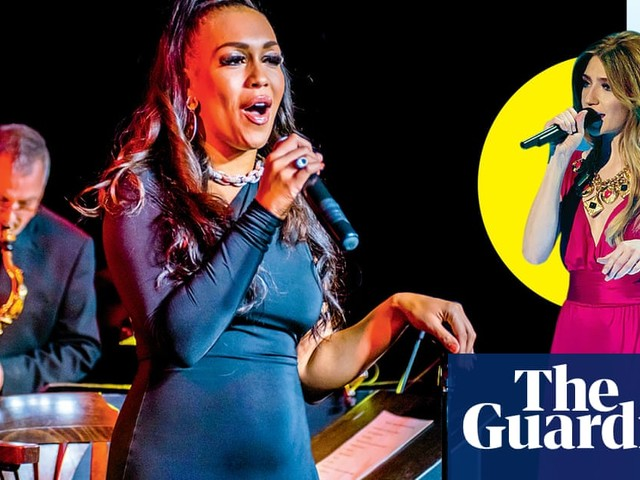 Why are Mel C, Nicola Roberts and Rebecca Ferguson performing in restaurants?