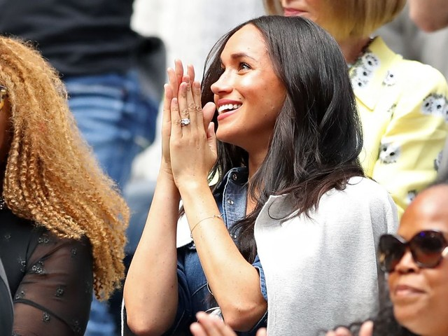 Serena Williams Stands Up for Meghan Markle, Spills on Baby Archie's Secret U.S. Trip and Wants Us to 'Gift Ourselves'