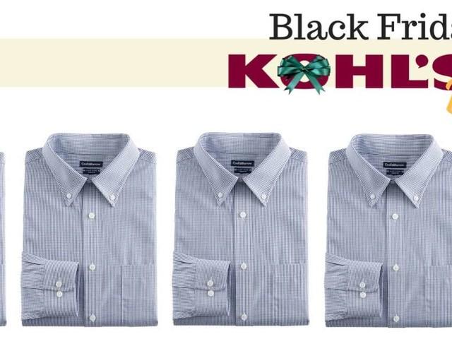 Kohl's: Men's Dress Shirts for $8.49 & More