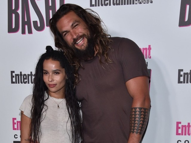 Jason Momoa Stoked That Stepdaughter Zoe Kravitz Is Playing Catwoman