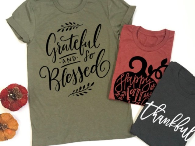 Get a fall graphic tee for just $13.99!