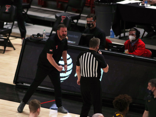 Texas Tech Red Raiders Coach Chris Beard Shows His Class; Gives Debut to Student Manager on Senior Night