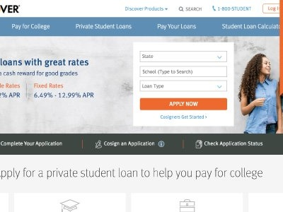 Discover Student Loans Review: No Fees, Just Cash Back Rewards for Good Grades