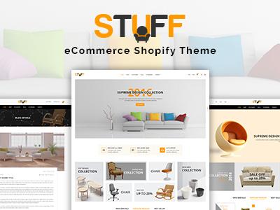 Stuff - Furniture Shopify Theme (Shopping)