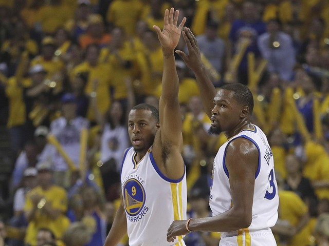 Kevin Durant just made a Warriors repeat even more likely
