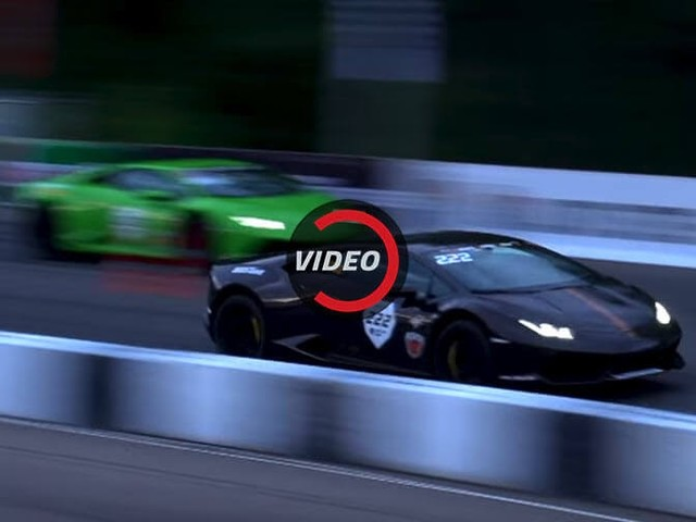 2,400 HP Worth Of Lamborghini Huracans Go Toe-To-Toe In Russia