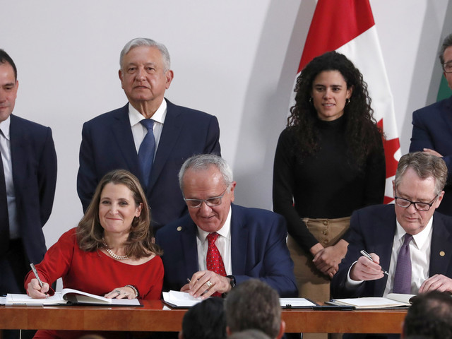 Democrats agree to North America trade pact: What's in it?