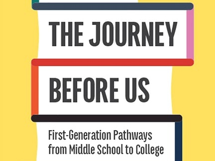 Author discusses her new book on first-generation students
