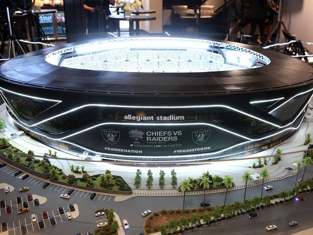 Conspiracy theories abound on Allegiant Stadium construction, scheduling