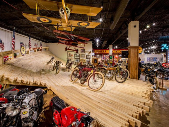 National Motorcycle Museum's 'Early American Transportation Innovation' exhibit