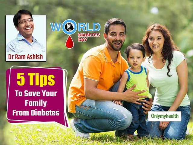 World Diabetes Day 2019: 5 Tips To Safeguard Your Family From Diabetes, Shares Dr Ram Ashish