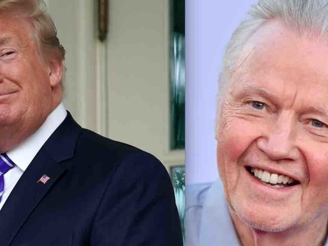 President Trump to give actor, tireless Trump supporter Jon Voight prestigious National Medal of Arts. And leftists are losing it.