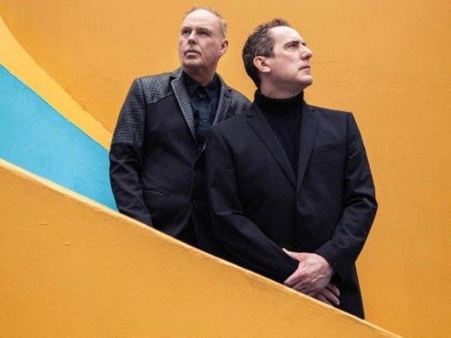 OMD at number one on the UK Vinyl Singles Chart with Electricity