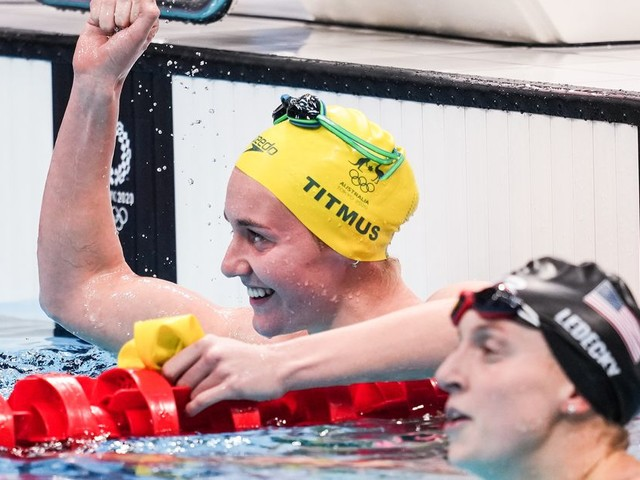 Ariarne Titmus' win over Katie Ledecky was the Olympic games at their most epic
