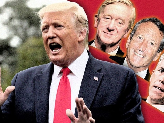 Trump says he won't debate 'laughingstock' Republican primary challengers