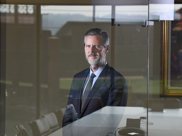 Jerry Falwell Jr. will take an indefinite leave of absence from Liberty