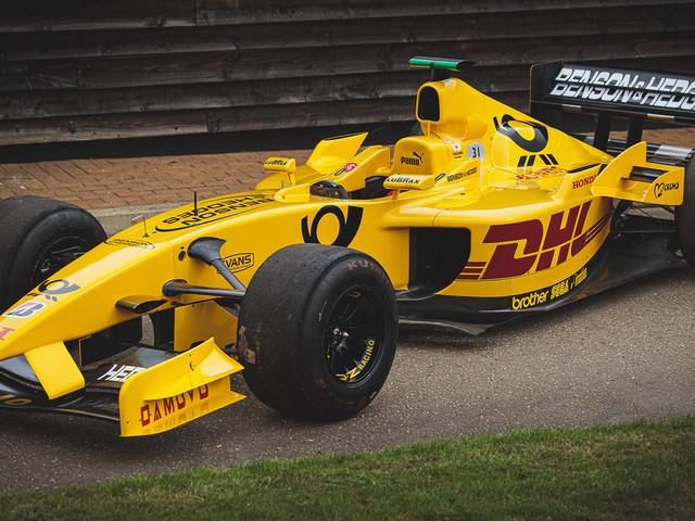 A 2002 Jordan F1 Car Driven By Takuma Sato Is For Sale