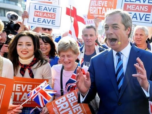 Nigel Farage Takes Down Another Tory Government, Bye Bye Theresa May