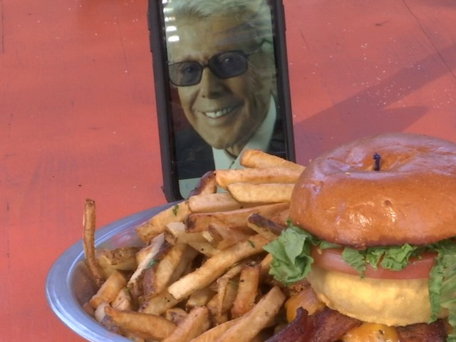 Rodeo Goat in EaDo names burger after ABC13's Marvin Zindler