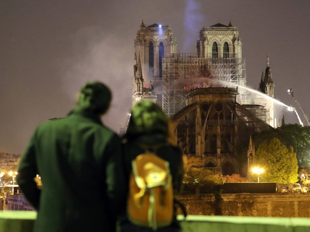 Paris Photojournalist Recounts Capturing Notre Dame Fire: 'You Can't Allow Yourself To Feel'
