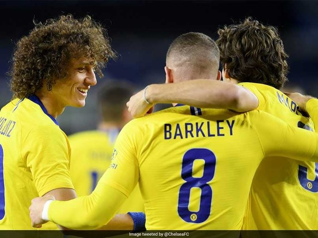 Barkley Scores Brace As Chelsea Down New England In Charity Game