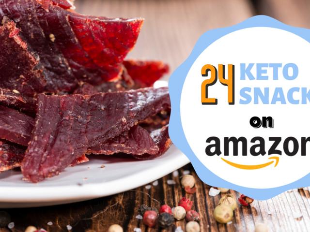 24 Keto Snacks on Amazon