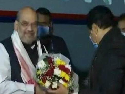 असम के दौरे पर गृह मंत्री अमित शाह