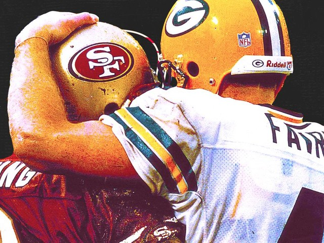 The 49ers and Packers have an intense playoff history