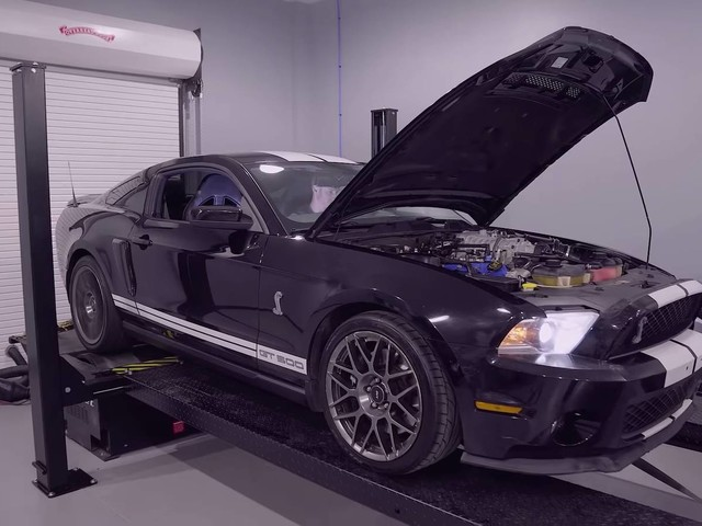 How Much Power Has The Shelby GT500 Lost After 182,271 miles?