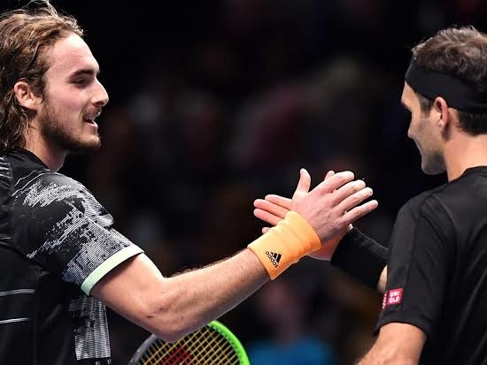 """Roger Federer: """"I Believe Stefanos Tsitsipas is Good on Faster Courts and on Slower Courts"""""""