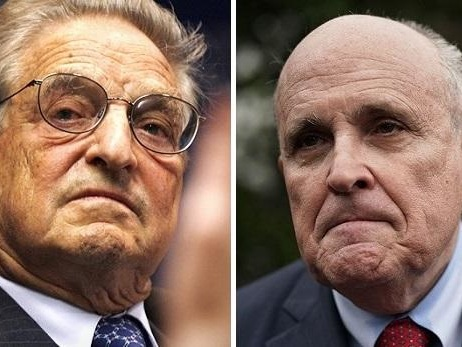 "George Soros Responds To Giuliani's ""Ranting"""