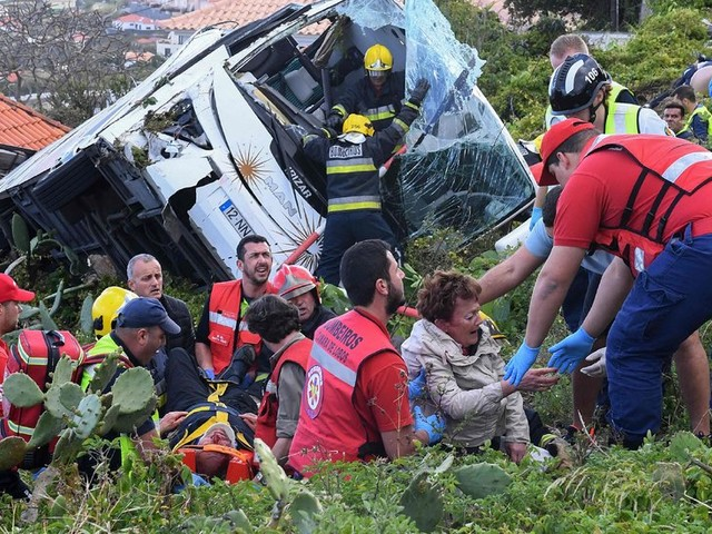 Merkel 'Saddened' as Germany Awaits Answers on Deadly Bus Crash in Madeira