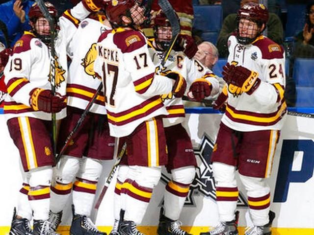 Minnesota Duluth wins 2nd straight title, beating UMass 3-0