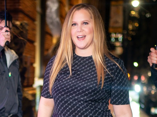 """Amy Schumer Opens Up About Her IVF Journey & Why She Feels """"Lucky"""""""