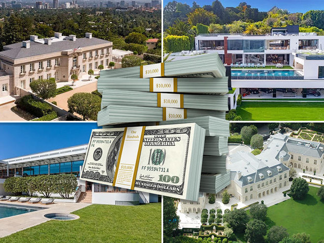 The $100M club: LA's priciest mansions are having a moment