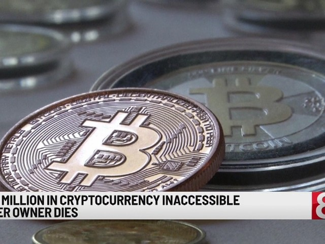 Company loses $190 million in cryptocurrency as CEO dies with sole password
