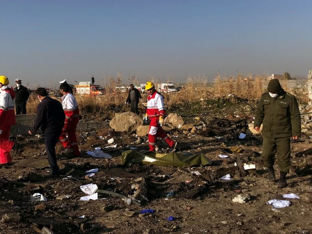 These are the nationalities of the 176 people killed in the Ukraine International Airlines crash in Iran