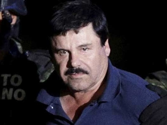 "Mexican Drug Lord ""El Chapo"" Sentenced To Life Plus 30 Years In Prison"