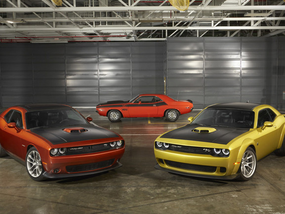 Dodge offering a limited-production Challenger 50th Anniversary edition