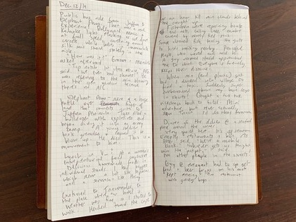 How to keep a travel journal