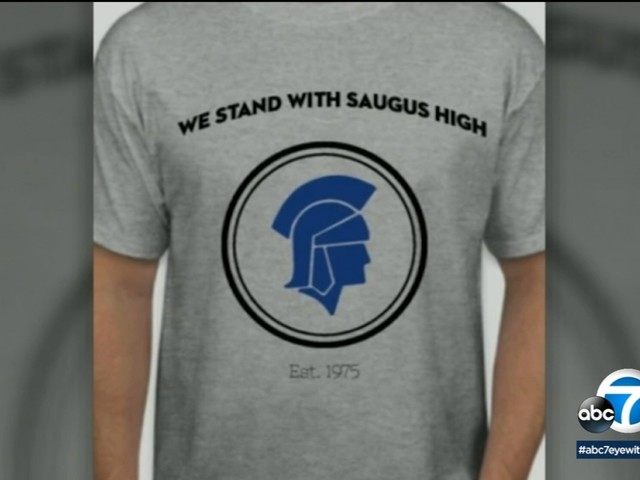 'We stand with Saugus High': Santa Clarita teen designs t-shirt to unify torn community