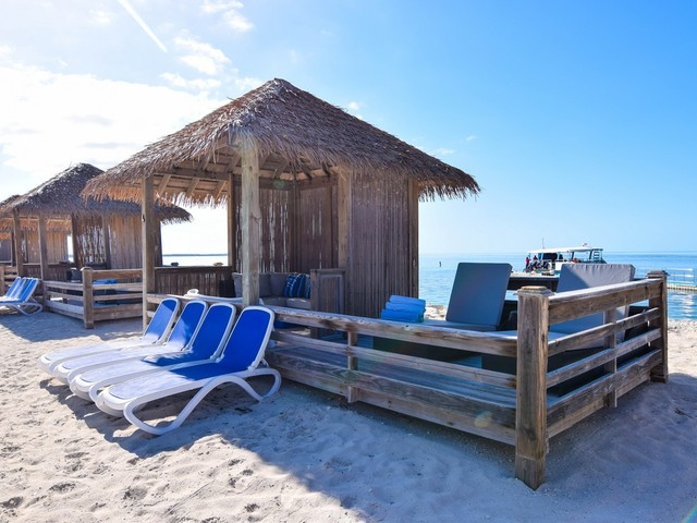 Spotted: South Beach Cabanas at Perfect Day at CocoCay