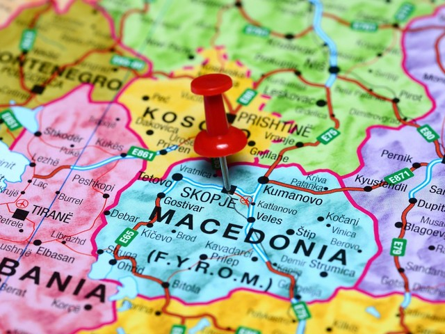 North Macedonia van crash kills migrant; 12 others injured