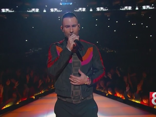 Maroon 5, Travis Scott and Big Boi rock out the Super Bowl LIII halftime show