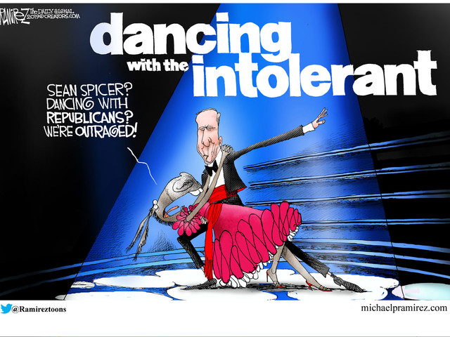 Cartoon: Dancing With the Intolerant