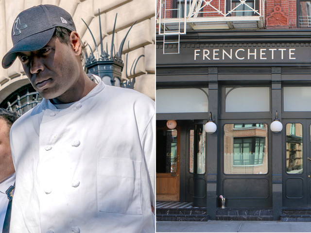 Accused 'granny-kicker' was a dishwasher at star-studded, Tribeca eatery
